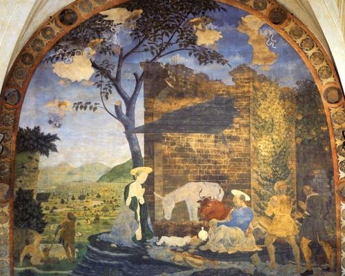 Nativity - Baldovinetti, Alessio - 1460