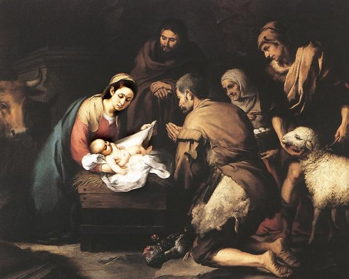 Adoration of the Shepherds - MURILLO, Bartolomé Esteban, 1655