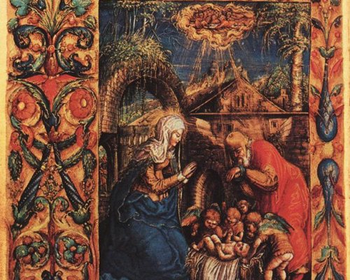 Nativity - SAMOSTRZELNIK, Stanislaw - 1527-28